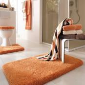 Opal bath mat